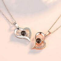 I LOVE YOU in 100 languages Pendant Necklace For Memory of LOVE 10 Kinds