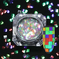 1g BORN PRETTY Nail Glitter Sequins Colorful Nail Art Flakes Square Paillette