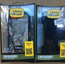 OtterBox Defender Series Case for iPhone 5 - Realtree Camo/orange With Belt Clip