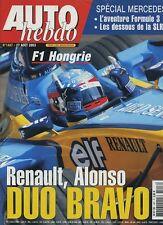 AUTO HEBDO n°1407 du 27 Août  2003 GP HONGRIE SAAB 9-3 AERO