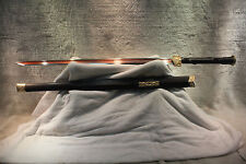 Handmade Chinese Han Sword Jian Sanmai Blade *Certified Han Sword* Free Box