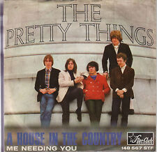 """THE PRETTY THINGS - A House In The Country - 1966 German 2-trk 7""""  vinyl single"""