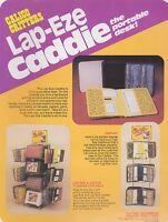 Vintage CALICO CRITTERS - LAP-EZE CADDIE- ad sheet #0114