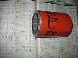 NEW QUALITY DIESEL FUEL FILTER - P4100A - FITS: IVECO TRUCK (DEUTZ ENGINES)