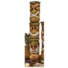 Mahalo Tiki Large: Exotic Hawaiian Totem Primitive Tiki Garden Yard Pool Statue