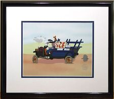 S/O Disney Goofy Delivery Moving Day Classic Art Cel Sericel Car Jalopy Auto