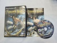 PRINCE OF PERSIA THE SANDS OF TIME PLAYSTATION 2 PS2 VIDEO GAME TESTED