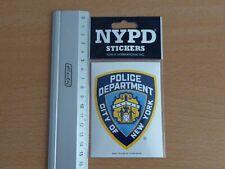 official NYPD New York sticker Police offizieller Polizei Aufkleber