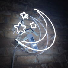 Neon Sign Light Stars & Moon Night Club Bedroom Wall Decor Bontique Artwork