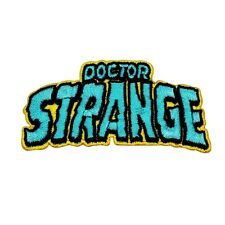 "Retro Marvel ""Doctor Strange"" Iron-On Patch Superhero Comic Fan Apparel Applique"