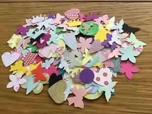 100 Mixed Shapes For Card Making And Scrapbooking