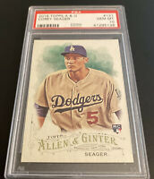 2016 TOPPS ALLEN & GINTER #121 COREY SEAGER RC DODGERS PSA 10 A3036596-262