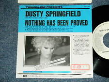 "DUSTY SPRINGFIELD Japan 1989 PROMO Only NM 7""45 NOTHING HAS BEEN PROVED"