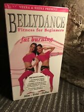 Bellydance Fitness for Beginners - Fat Burning VHS 1999 VCR Tape Veena & Neena