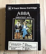 More details for abba - greatest hits - 8 track stereo cartridge - cbs / epic epc 42-69218