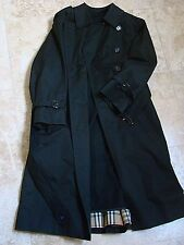 BURBERRYS'  MEN'S TRENCH COAT 100% WOOL...NO RESERVE ! ! !