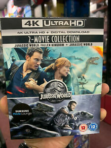 Jurassic World & Fallen Kingdom 2 Movie Collection 4K Ultra UHD Set New Sealed