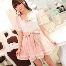 Kawaii Cute Pink One Piece Lolita Dress