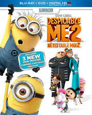 Brand New Despicable Me 2 (Blu-ray/DVD/Digital HD, 2013, 2-Disc Set,)