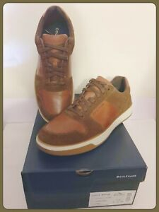 NIB COLE HAAN Grand Crosscourt Crafted Sneaker Men Leather Size 11 M EU 44 $180