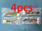 4pcs Dual 4 Pin Molex to 6 pin PCI-e exp video card adapter connector pwr cable