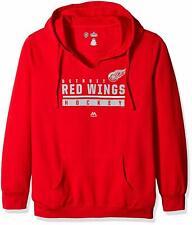 NHL Detroit Red Wings Pullover Hoodie Sweatshirt, Red Hockey NWT