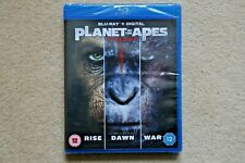 BLU-RAY PLANET OF THE APES TRIPLE COLLECTION TRILOGY BRAND NEW SEALED UK STOCK