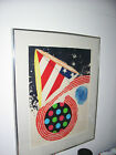Rosenquist Hand Signed and Numbered Lithograph