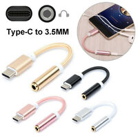 For Huawei Mate 10 P20 Pro Type C USB to 3.5mm Earphone Jack Audio Cable Adapter