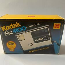 Vintage Kodak Disc 4100 Camera in Box & Kodak 3100 Disc