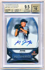 2010 Bowman Sterling Mike Foltynewicz Autograph Auto Rookie Rc BGS 9.5/10 POP 13