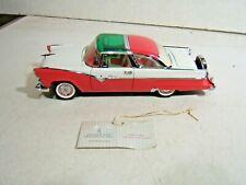 Franklin Mint 1/24 1955 Ford Crown Victoria Diecast Model Car