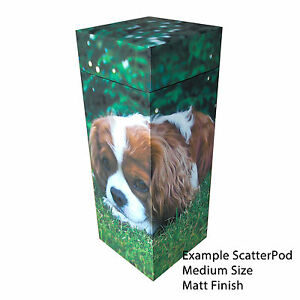 NEW! Bespoke Pet ScatterPod - Scattering Cremation Urns - with your own image!