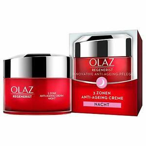 OLAZ Regenerist 3 point anti Ageing Age Defying Night cream 15ml in German pack