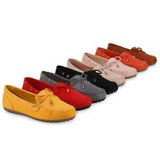 Damen Slippers Mokassins Bequeme Freizeitschuhe Slip On Flats 833818 Trendy