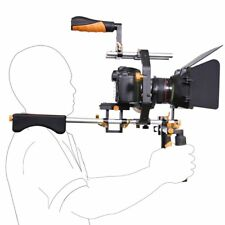 Pro DSLR-Rig-C-shape Stabilizer Shoulder Mount Rig Matte Box Follow Focus Cage
