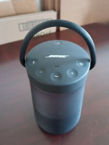 Bose SoundLink Revolve Bluetooth Speaker True 360-degrees Sound Black PreOwned