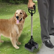 Dog Cat Pooper Scooper Large Scoop Dog Pet Waste Clean Large Poop Pick Up Handle