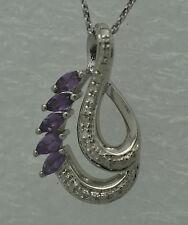 Markenlose Echtschmuck-Halsketten & -Anhänger mit Diamant für Damen