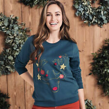 AVON Ladies Womens Long Sleeve Rudolph Xmas Christmas Jumpers Tops Size 22 24