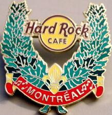 Hard Rock Cafe MONTREAL 2006 MAPLE LEAF WREATH Core HRC Logo PIN - HRC #48794