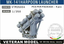 Veteran Models 1/350 Modern US Mk-141 Harpoon Launcher x4pcs