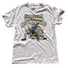 Wrestling T-Shirt Ringer T-Shirts Tee Sport Lutte Ringen Grappling - White