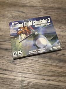 Microsoft Combat Flight Simulator 3: Battle for Europe (PC Game )