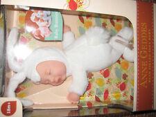 Anne Geddes Puppe, Baby Hase, Häschen weiß, Kuscheltier NEU OVP Ostern