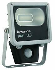 KINGAVON ANTI GLARE METAL BODY GREY SMD 10W LED SECURITY LIGHT WITH SENSOR