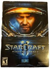 Starcraft II 2 Wings of Liberty 2010 Blizzard Apple Mac Windows PC Video Game