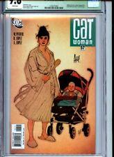 Catwoman #57 CGC 9.8 Adam Huges Sig (unverified) Wildcat Green Lantern app
