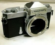 Nikon Nikkomat FTN 35mm SLR Film Camera Body Only  AS IS issues with light meter