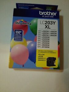 Brother LC 203 Yellow Ink Cartridge High Yield (LC203YXL)